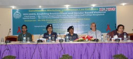 LEAHN and UNAIDS host harm reduction workshop for police in Bangladesh