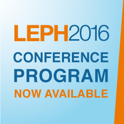 LEPH2016 Conference Program Now Available