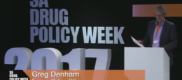 Video: Watch LEAHN's Greg Denham speak at South Africa Drug Policy Week 2017